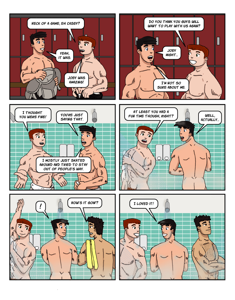 catb 79: Obligatory Shower Scene